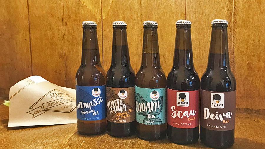 Al Masetto trovi le birre di Altavia!